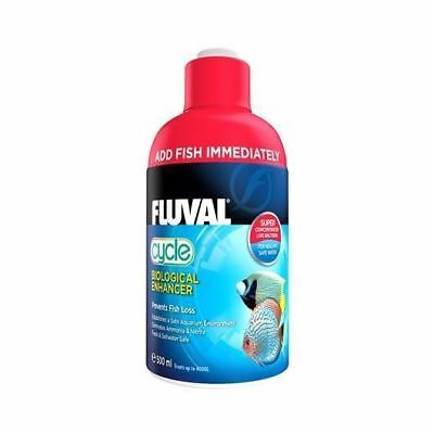 Fluval Cycle Biological Filter Starter 500ml Eliminates Aquarium Ammonia Nitrite