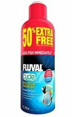 Fluval Cycle Biological Filter Starter 375ml Eliminates Aquarium Ammonia Nitrite