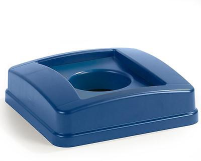 Carlisle 343527REC14 Centurian Recycle Bottle/Can Lid Blue Case of 4