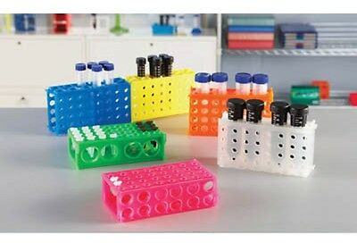 4-Sided Tube Rack Suitable for 1.5, 15, 50 mL tubes, Autoclavable and Linkable