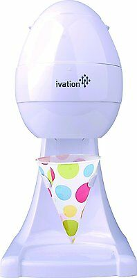 Ivation IS80 Electric Ice Shaver, Snow Cone Maker, Shaved Ice Machine, Ice Snow
