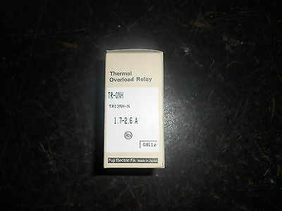 """Fuji TRON (H) Thermal Overload Relay """"NEW"""""""