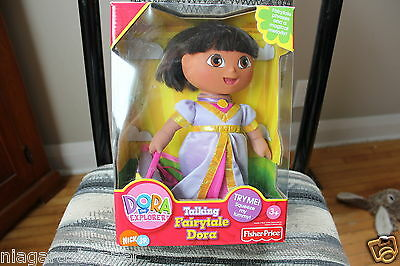 DORA THE EXPLORER*Talking Fairytale Doll*FISHER PRICE*NICK JR*Magical Melody*