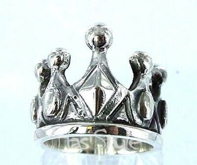 King Baby Studios Sterling Silver Crown 925 Ring ANY SIZE K20-5002