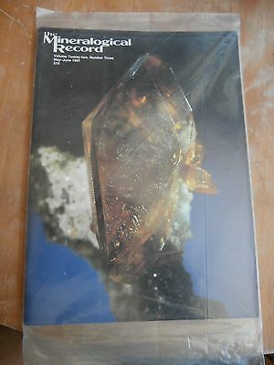 MINERALOGICAL RECORD MAGAZINE Volume 22 #3 May-June 1991