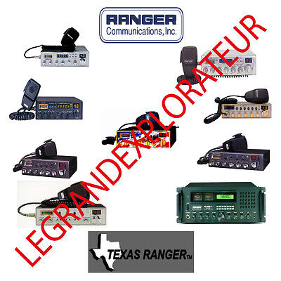 Ultimate Ranger - Texas Ranger Radio  Operation Repair Service manual on DVD