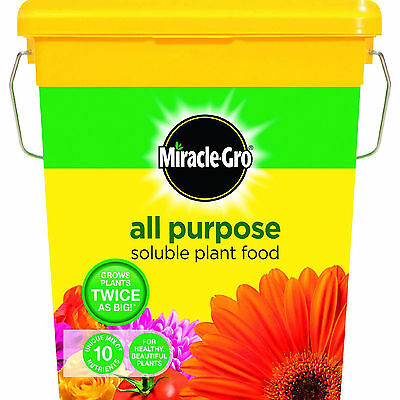 Miracle Gro All Purpose Water Soluble Plant Food Tub 2 kg Grow Free Shipping New