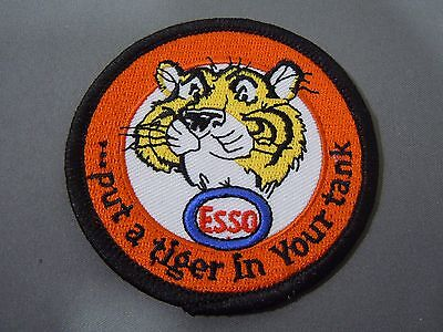 """ESSO- Put a Tiger in your Tank - Embroidered Iron On Uniform-Jacket Patch 3"""""""