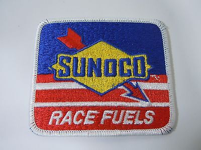"SUNOCO Race Fuels Embroidered Sew On Uniform-Jacket Patch 3.5"" x 3"""