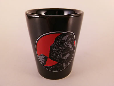 STAR WARS Darth Vader THE FORCE IS STRONG WITH THIS ONE Shot Glass Mini Cup Mug
