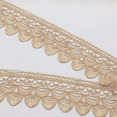 FP136D 1 Yard Lace Trim Ribbon For Dress Veil skirt Embroidered Sewing DIY Craft