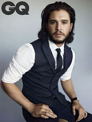MULTIPLE SIZES E KIT HARRINGTON JON SNOW HOLLYWOOD GOSSIP CELEBRITY Poster