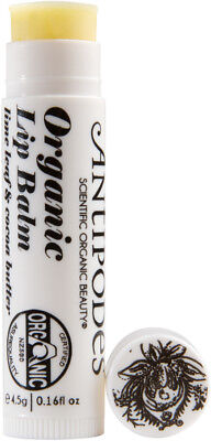 Lime Leaf and Cocoa Butter Lipbalm 4.5g Antipodes
