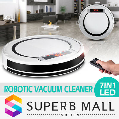 Automatic Rechargeable Robot Robotic Bagless Vacuum Cleaner Sweeper Super Slim