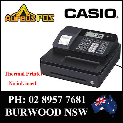 CASIO SE-G1S Thermal printer cash register with 8 Dept Key small drawer ABN