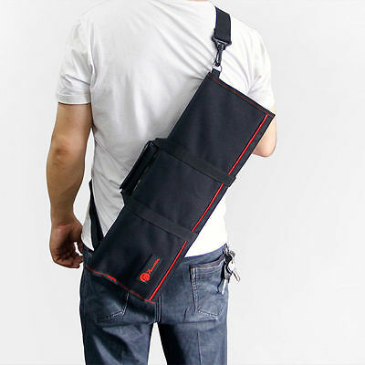 22 Pocket Chef Knife Roll Bag Case Wallet Cutlery School Chef Knife Bag Strap