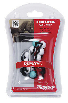Masters Golf - Bead Stroke Counter with Carabiner Clip