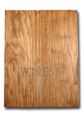 Electric guitar bookmatched carved top spanish Olive wood stock 98 unique top