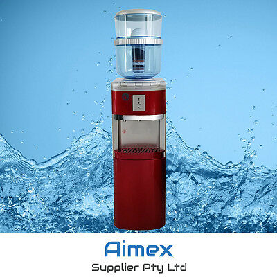Silver Red Awesome Water Cooler Purifier Dispenser  Hot And Cold