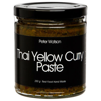 NEW Peter Watson Thai Yellow Curry Paste 250g