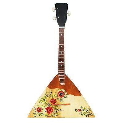 New Russian Balalaika 3 String Prima Wood, High Quality
