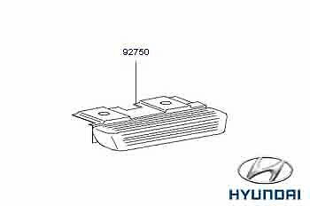 Genuine Hyundai Trajet High Level Brake Light - 927503A000