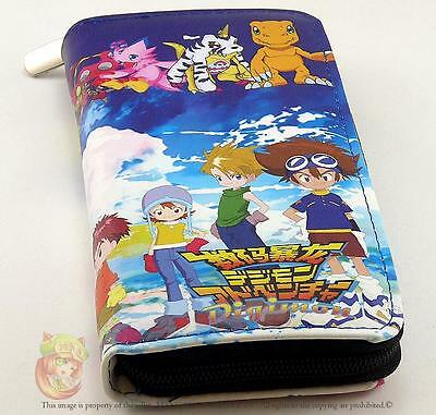 Digimon Wallet Purse High Quality UK Stock Worldwide Shiping