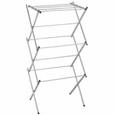 Cloth Dryer 3 Tier Airer Metal Clothes Concertina Laundry Horse Folding Rack