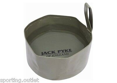 Jack Pyke Folding Dog Water Bowl Container Collapsible Travel Camping Hunting
