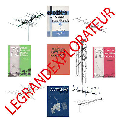 Ultimate Antennas  Antenna Design Reference manuals Collection  PDF books on DVD