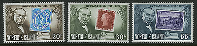 Norfolk Island   1979   Scott # 246-248    Mint Never Hinged Set