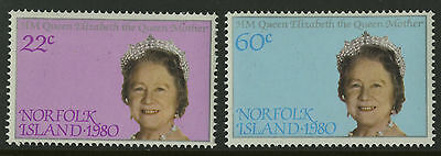 Norfolk Islands   1980   Scott # 271-272    Mint Never Hinged Set