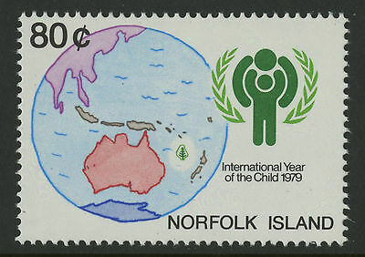 Norfolk Island   1979   Scott # 250    Mint Never Hinged Set