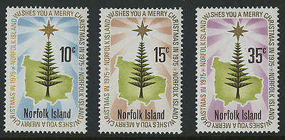Norfolk Islands   1975   Scott # 187-189    Mint Never Hinged Set