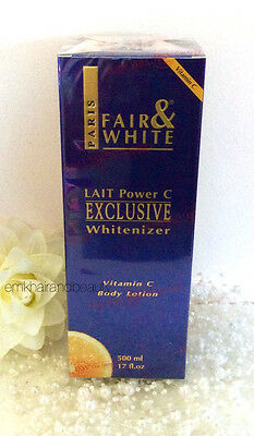 Fair & White Lait power C Exclusive Whitenizer Vitamin C Body Lotion 500ml