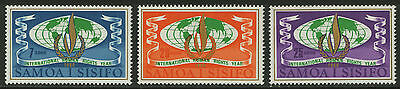 Samoa   1968   Scott #295-297   Mint Lightly Hinged Set