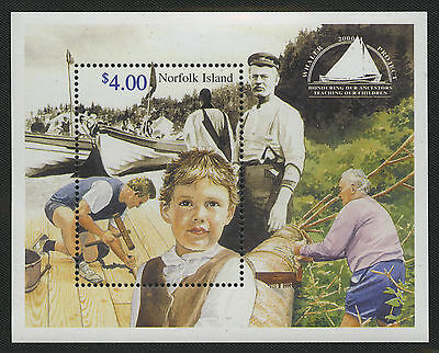 Norfolk Island   2000   Scott # 703-704    Mint Never Hinged Souvenir Sheet