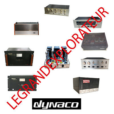 Ultimate Dynaco Repair Service Owner Manuals & Schematics (PDFs manual s on DVD)