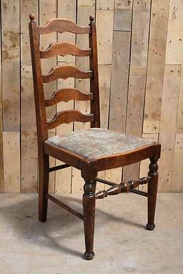 Retro Vintage Arts & Crafts Solid Wooden Oak? Occasional Chair - Upcycle?