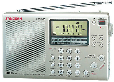 Sangean ATS-505 Packet