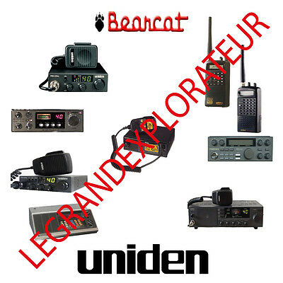 Ultimate Uniden Bearcat Repair Service & Operation Manuals  340 PDF manual s DVD