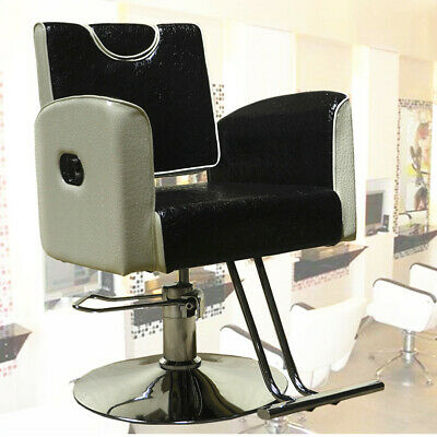 Fashion Hydraulic Barber Reclining Salon Chair Hairdressing Beauty Furniture