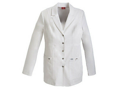 """Dickies Xtreme Stretch 28"""" White Lab Coat Style 82400 (All Sizes)"""