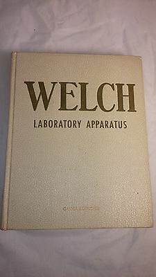1954 Welch Laboratory Apparatus Catalog 840 Pages ASBESTOS products...