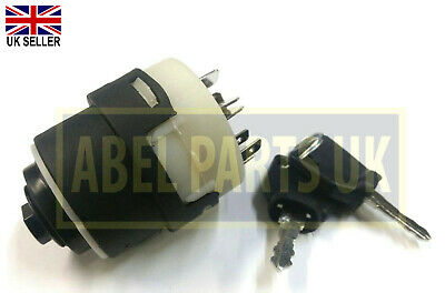 Jcb Parts - Ignition Switch With 2 Keys (Part No. 701/80184)