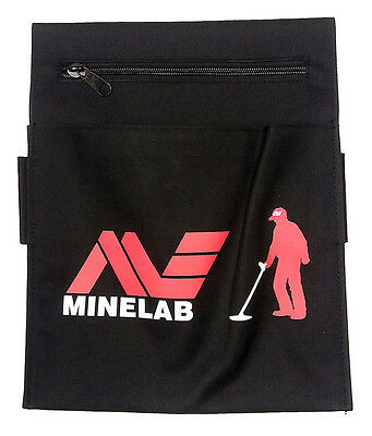 Genuine Minelab Finds Pouch For Metal Detecting - Latest Design!