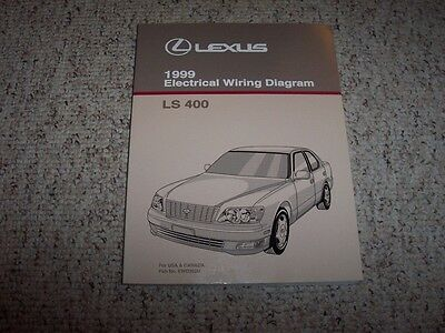 1999 lexus gs400 gs300 gs 400 electrical wiring diagram service 1999 lexus ls400 ls 400 factory electrical wiring diagram manual 4 0l v8