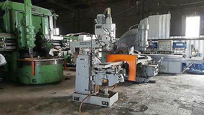 Used Sharp VH-3 Horizontal Vertical Machining Center Knee Mill 4 Axis DRO 1998