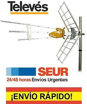 Antena TV TELEVES 149902 DAT HD BOSS 790 TELEVISION FILTRO 4G LTE 46149902