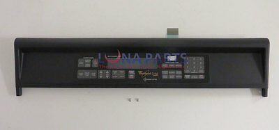 Genuine OEM Whirlpool 8300409 Control Panel Assembly W/membrane Switch WP8300409